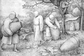 Beekeepers - engraving 31 x 23cms
